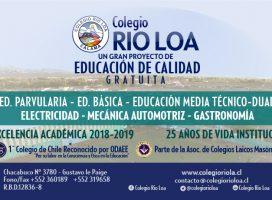 Video 25 años de Trayectoria: cliente Colegio Río Loa